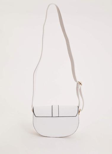 DeFacto Küçük Çapraz Çanta Beyaz